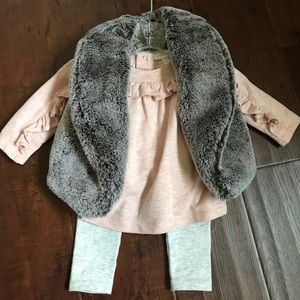Miniclasix 3 piece baby girl set 💕